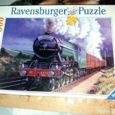 Puzzles: PUZZLE DE 500 FICHAS , TREN EN ESCOCIA DE RAVENSBURGER ESTA ACABADO Y PARCELADO EN FOLIOS. Lote 193610166
