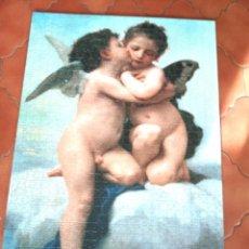 Puzzles: PUZZLE 1000 FICHAS ANGELES , ACABADO Y PEGADO EN TABLERO DE 3 M.M. Lote 193660202