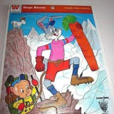 Puzzles: ANTIGUO PUZZLE FRAME TRAY PUZZLE BUGS BUNNY COLECCIÓN WHITMAN 1979 USA ESTADOS UNIDOS. Lote 193873663