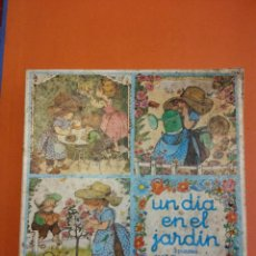 Puzzles: UN DIA EN EL JARDÍN. PUZZLES EDUCA. 4-10 AÑOS. Lote 194009561