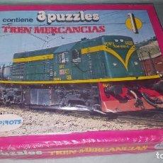 Puzzles: TREN DE MERCANCIAS- PUZZLE- RENFE. Lote 194126971