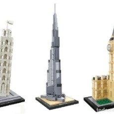 Puzzles: PUZZLES EN 3D TIPO LEGO -TORRE DE PISA - TORRE BIG BEN -TORRE BURJ KHALIFA ELIJE EL QUE QUIERAS . Lote 194190941