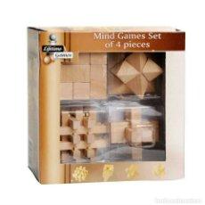 Puzzles: CONJUNTO DE 4 ROMPECABEZAS DE MADERA, PUZZLE 3D. Lote 194276810