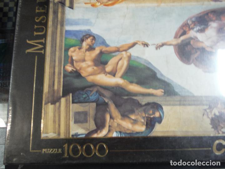 Puzzles: PUZZLE 1000 PIEZAS MICHELANGELO DE CLEMENTONI - Foto 2 - 194334785
