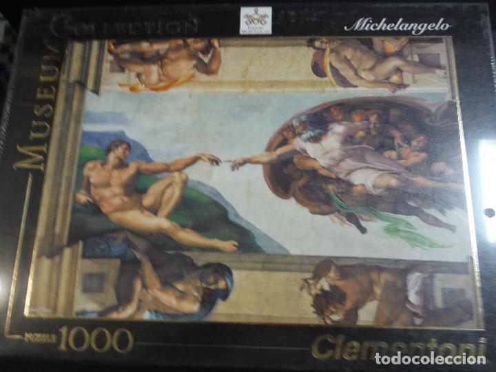 PUZZLE 1000 PIEZAS MICHELANGELO DE CLEMENTONI (Juguetes - Juegos - Puzles)