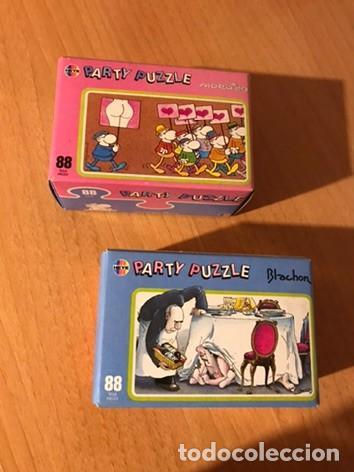 DIVERTIDA PAREJA DE PARTY PUZZLE DE 88 PIEZAS. MORDILLO Y BLACHON. HEYE. LOTE 2. A ESTRENAR (Juguetes - Juegos - Puzles)