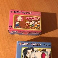 Puzzles: DIVERTIDA PAREJA DE PARTY PUZZLE DE 88 PIEZAS. MORDILLO Y BLACHON. HEYE. LOTE 2. A ESTRENAR. Lote 194357776