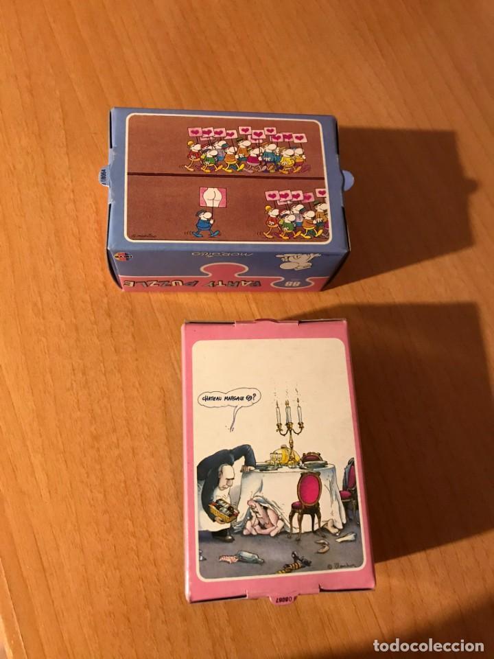 Puzzles: DIVERTIDA PAREJA DE PARTY PUZZLE DE 88 PIEZAS. MORDILLO Y BLACHON. HEYE. LOTE 2. A ESTRENAR - Foto 2 - 194357776