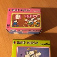 Puzzles: DIVERTIDA PAREJA DE PARTY PUZZLE DE 88 PIEZAS. MORDILLO. HEYE. LOTE 3. A ESTRENAR. Lote 194357815