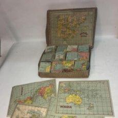 Puzzles: ANTIGUO DEL MAPA GEOGRÁFICO DE ESPAÑA. Lote 194496190