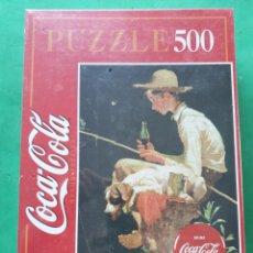 Puzzles: PUZZLE EDUCA. COCA COLA. PRECINTADO 500 PIEZAS. 48 X 34 CMS. Lote 194498503