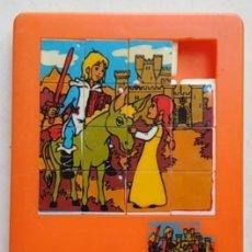 Puzzles: JUEGO PUZZLE EL PEQUEÑO MIO CID. Lote 194510570