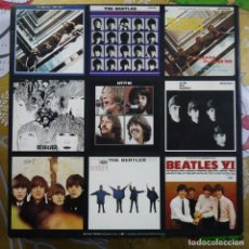 Puzzles: PUZZLE DE 500 PIEZAS 20X20 INCHES (50X50 CM). PORTADAS THE BEATLES - HALLMARK CARDS - MADE IN USA. Lote 194623481