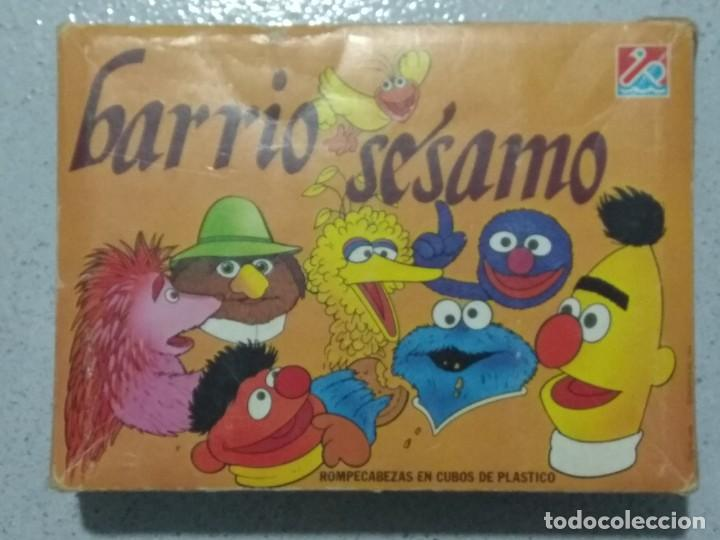BARRIO SESAMO ROMPECABEZAS EN CUBOS DE PLASTICO. DALMAU CARLES PLA. (Juguetes - Juegos - Puzles)