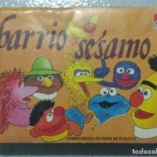 Puzzles: BARRIO SESAMO ROMPECABEZAS EN CUBOS DE PLASTICO. DALMAU CARLES PLA. . Lote 194730026