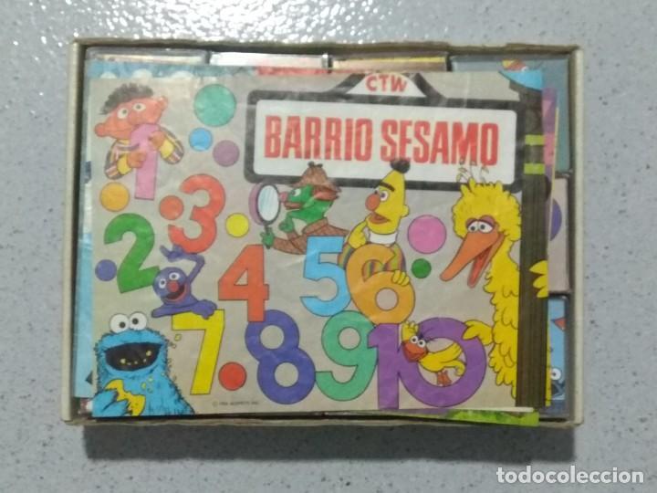 Puzzles: BARRIO SESAMO ROMPECABEZAS EN CUBOS DE PLASTICO. DALMAU CARLES PLA. - Foto 2 - 194730026