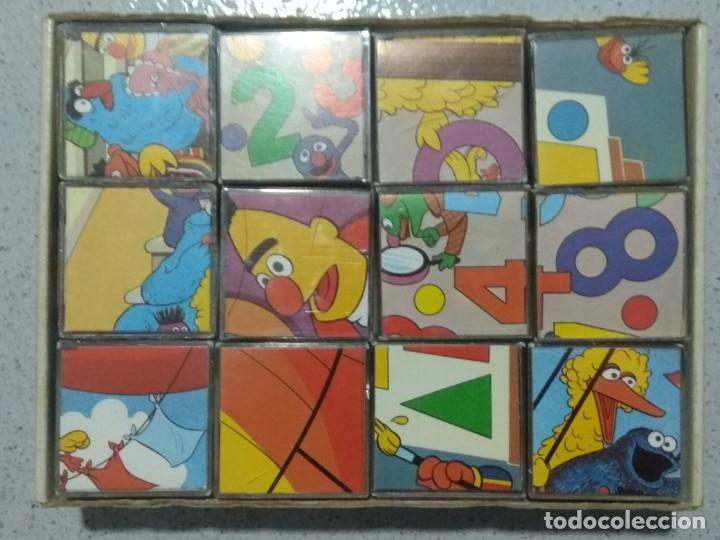 Puzzles: BARRIO SESAMO ROMPECABEZAS EN CUBOS DE PLASTICO. DALMAU CARLES PLA. - Foto 6 - 194730026