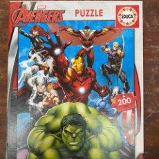 Puzzles: PUZZLE MARVEL AVENGERS 200 PIEZAS. Lote 194775982