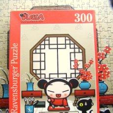 Puzzles: PUZZLE PUCCA PINTA A GARU - RAVENSBURGER - 300 PIEZAS - 49 X 36 CM - COMPLETO. Lote 194954871