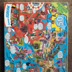 Puzzles: PUZZLE JAN AUTOR SUPERLOPEZ SUPER LOPEZ EUROPA EDUCA COMPLETO EN CAJA. Lote 195112420