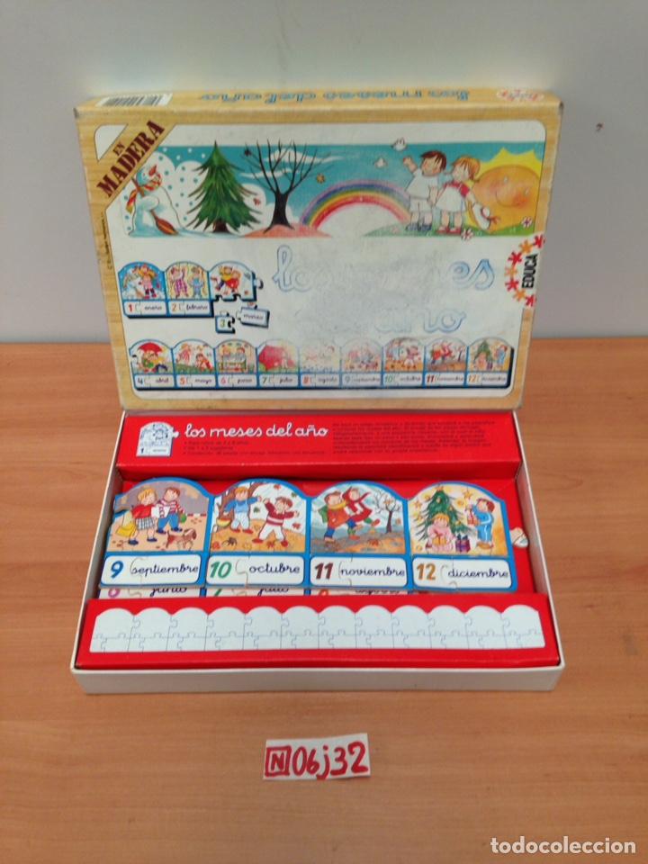 PUZZLE EN MADERA (Juguetes - Juegos - Puzles)