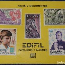 Puzzles: PUZZLE EDIFIL - REYES Y MONUMENTOS - AÑO INTERNACIONAL DEL NIÑO (1979). Lote 195154772