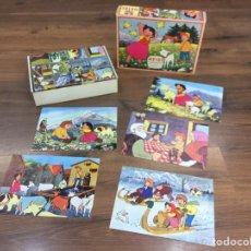 Puzzles: ROMPECABEZAS HEIDI 1975 - ZUIYO ENTERPRISES.. Lote 195169191