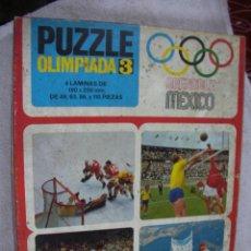 Puzzles: ANTIGUOS PUZZLES OLIMPIADAS DE MEXICO. Lote 195220176