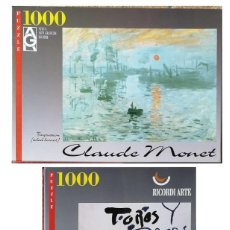 Puzzles: LOTE PUZZLES MONET Y PICASSO. Lote 195256547