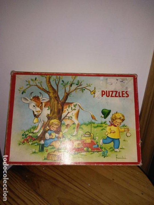 Puzzles: Antiguo Puzzle o rompecabezas marca WILLEB - Foto 3 - 195314292