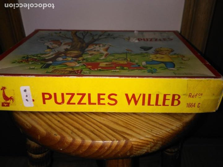 Puzzles: Antiguo Puzzle o rompecabezas marca WILLEB - Foto 4 - 195314292