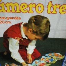 Puzzles: PUZZLE DISET. NÚMERO TREN. UNA PIEZA ROTA, LA NÚMERO 7.. Lote 195433308