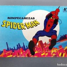 Puzzles: ROMPECABEZAS SPIDERMAN - BORRAS AÑO 1979 - COMPLETO CON 6 LAMINAS - BUEN ESTADO . Lote 195495032