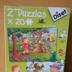 Puzzles: DISET. JUEGO DE PUZZLES 20 PIEZAS. 3+. Lote 196453166