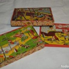 Puzzles: BORRÁS / ANTIGUO ROMPECABEZAS - CONSTRUIDO TODO EN CARTÓN - AÑOS 50/60 - BUEN ESTADO ¡MIRA FOTOS!. Lote 196528516