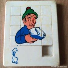 Puzzles: PEQUEÑO PUZZLE DE FICHAS MÓVILES PUBLICIDAD RESFRIADO. Lote 196766917