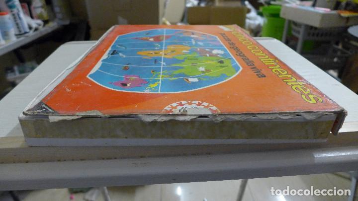 Puzzles: LOS CINCO CONTINENTES PUZZLE DE GEOGRAFIA VIVA DE EDUCA COMPLETO - Foto 6 - 197326826