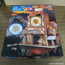 Puzzles: PUZZLE 3D RELOJ BÁVARO 404 PIEZAS MB DIFICULTAD MEDIA. Lote 197398371