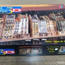 Puzzles: PUZZLE 3D QUAI DE MEGISSERIE 774 PIEZAS MB EXTRA DESAFIANTE. Lote 197411370