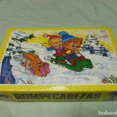 Puzzles: ANTIGUO ROMPECABEZAS PUZZLE DE JUGUETES PLAVEN. COMPLETO CON LÁMINAS. Lote 197667691