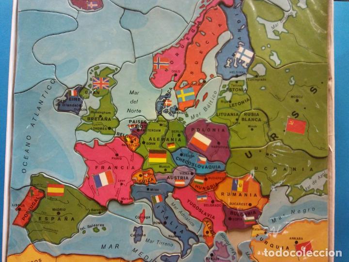 PUZZLE MAPA DE EUROPA. JUEGOS DIDACIA. MEDIDAS 30*30 CM (Juguetes - Juegos - Puzles)