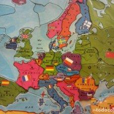 Puzzles: PUZZLE MAPA DE EUROPA. JUEGOS DIDACIA. MEDIDAS 30*30 CM. Lote 198024401