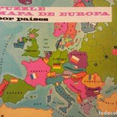 Puzzles: PUZZLE MAPA DE EUROPA POR PAÍSES. JUEGOS DIDACIA. MEDIDAS 30*30 CM. Lote 198024705