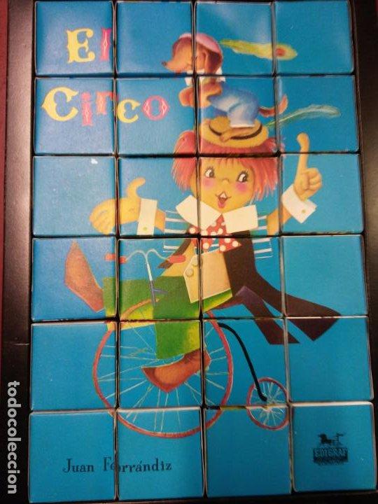 Puzzles: PUZZLE EL CIRCO. JUEGOS DIDACIA. MEDIDAS 18*28 CM - Foto 2 - 198024960