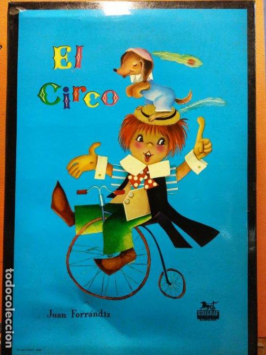 PUZZLE EL CIRCO. JUEGOS DIDACIA. MEDIDAS 18*28 CM (Juguetes - Juegos - Puzles)