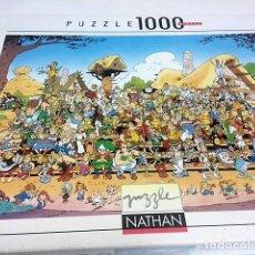 Puzzles: PUZZLE ALDEA ASTERIX 1000 PIEZAS. MEDIDAS 70 X 50 CMS. Lote 198339950