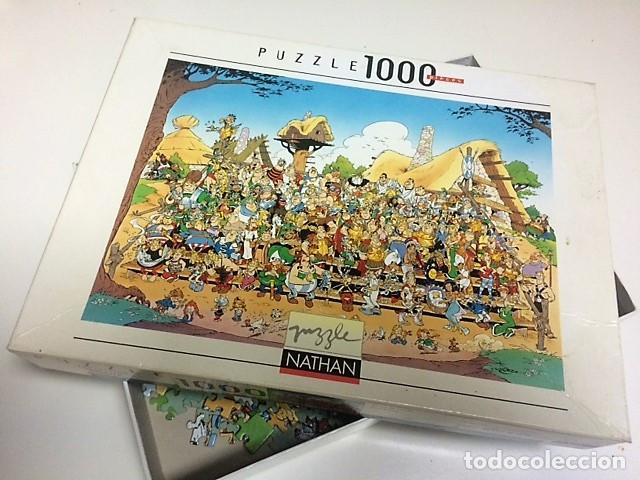 Puzzles: PUZZLE ALDEA ASTERIX 1000 PIEZAS. Medidas 70 x 50 cms - Foto 2 - 198339950