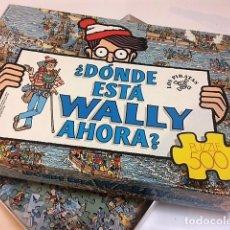 Puzzles: PUZZLE DONDE ESTÁ WALLY? 500 PIEZAS. EDUCA.. Lote 198340621