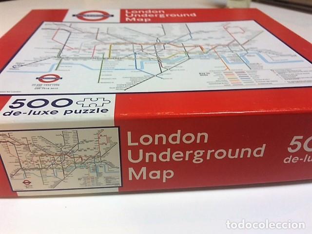 PUZZLE PLANO METRO LONDRES. TUBE. 500 PIEZAS. (Juguetes - Juegos - Puzles)