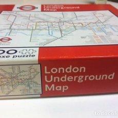 Puzzles: PUZZLE PLANO METRO LONDRES. TUBE. 500 PIEZAS.. Lote 198341153
